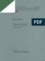 Silouan's Song - Viola