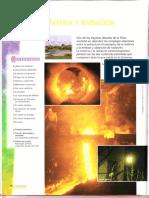 Materia y Radiación