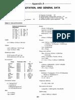Appendix a - Units, Notations & General Data