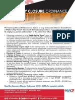 FLIER SummaryClosure 20151016