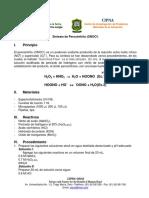Analisis y Sintesis de Peroxinitrito