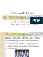EFL to Small Children