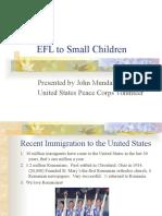 EFL to Small Children