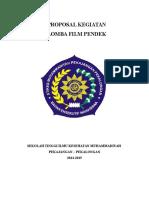 Proposal Kegiatan Lomba Film 1