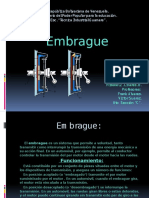Embrague diapositivas