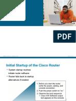 7. Basic Router Configuration