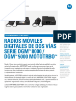 Mot Mototrbo Dgm8000 Dgm5000 Original