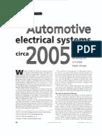 Automotive Electrical Systems Circa 2005