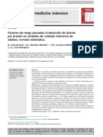 Factores asociados al desarrollo de úlceras por presión en unidad de cuidados críticos. Revisión Bibliográfica