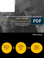 El Impacto de La Exclusión Social en La Salud de Los Adultos Mayores.