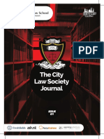 The City Students' Union Law Society Journal - Issue 1