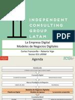 4icg Seminario Empresa Digital Modelo de Negocios v11 160210144112