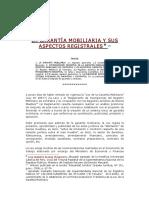 La Garantia Mobiliaria y Sus Aspectos Registrales- Aliaga Huaripata