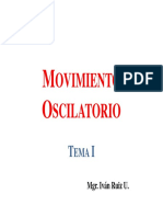 Movimiento Oscilatorio