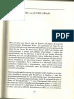 Kant- Pensador de la modernidad