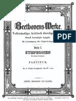 Beethoven Symphony No 5