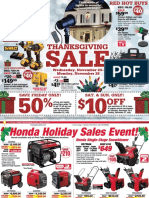 Seright's Ace Hardware 2016 Thanksgiving Sale