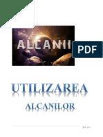 UTILIZAREA ALCANILOR