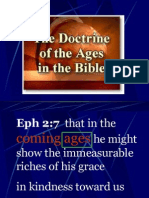 The Doctrine of the Ages in the Bible.