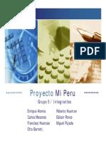 Proyecto Mi Peru