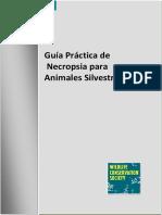 Guia Pra-ctica de Necropsia Para Animales Silvestres