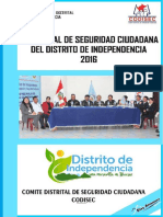 Plan 2016 Independencia