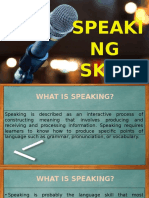 15  presentation speaking