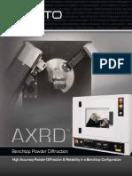 AXRD Benchtop X-Ray Diffraction