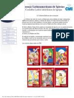 Talleres BÍblicos de Iniciación. Colección de 13 folletos-guías. CLAI.