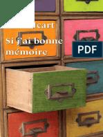 Anne Icart - Si j'Ai Bonne Mémoire