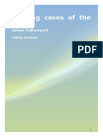Leading Cases of the CEDH