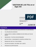 Gobierno y Gestión de Las TICs - AENOR