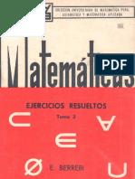 Matematicas Ejercicios Resueltos Tomo 3