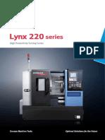 Lynx 220 Series English