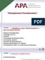 Planejamento Previdenciário 201 Final