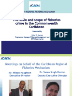 Scale and Scope of Fisheries Crime in the Caribbean