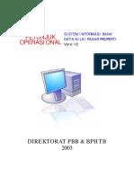Manual Data Pasar