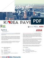 2016 KOREA PAVILION at GNYDM_Catalogue