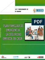 Plan Familiar de Emergencia Seguridad Empieza en Casa