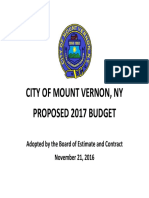 2017 Adopted Mount Vernon Budget