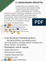 2-4 Analisis Lingkungan Industri