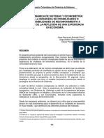 Dinamica de Sistemas y Econometria