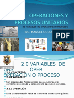 Operaciones y Procesos Unitarios 2
