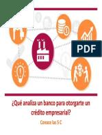 Presentacion Las 5 c Del Credito 22 Julio 0
