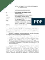 Informe N°1098-2015-SGSP-MDH