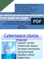 Cyberspace (Dunia Maya)