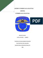 Paper Manajemen Sumber Daya Manusia