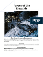 Tyranid Fandex