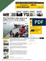 Base Naval Del Callao Abierta Al Público El 15 y 16 de Octubre _ Lima _ Sociedad _ El Comercio Peru