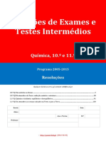 Q 10-11 Ano (Com SOLUÇÕES, Todas as Unidades), Banco de Questoes Com Itens de Exames